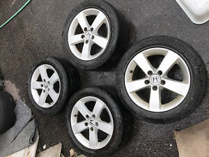 4 15 inch Honda Civic Rims (with or without tires)