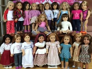 Downsizing American Girl Doll Collection
