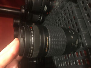 Canon 75-300mm telephoto lens