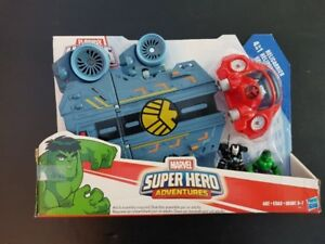Playskool Heroes Iron Man Marvel Playskool 4 in 1 Helicarrier