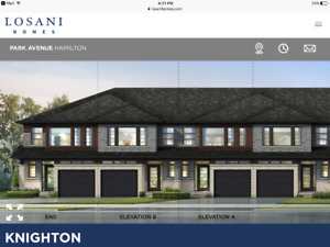 Town house- Losani Homes for rent