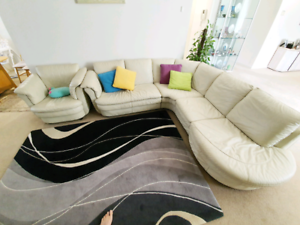 10 seater white couch sofa with extra sofa