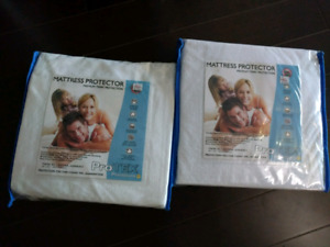 Twin XL bed protectors Brand new