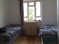 Twin room available for a couple or two friends