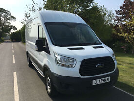 2014 64 FORD TRANSIT 350 LWB 2.2 TDCI 125BHP L3 H3 ONLY 31000 MILES 1 OWNER