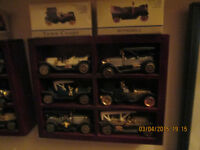 Miniature collector cars