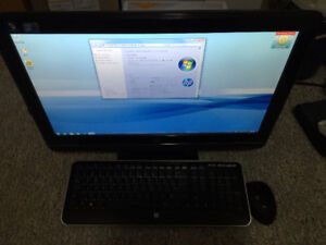 """HP Computer - 22"""" Monitor and Computer in one  Core 2 Duo 3.07"""