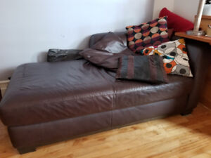 Leather couches for sale!