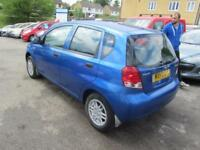 2003 Daewoo Kalos Hatch 5Dr 1.4 Xtra Petrol blue Manual