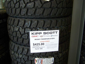 LT285/55R20 Mickey Thompson Baja ATZP3 Tires $425