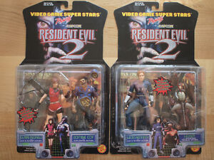 Resident Evil 2 Leon Kennedy Claire Redfield Sealed figures