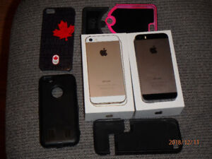 Two iPhones 5S - Excellent Condition