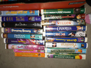 Assorted Childrens VHS - Some Disney