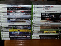 "XBOX 360, 78 GAMES, 40"" FLAT SCREEN, BEST OFFER BY SUNDAY WINS!!"