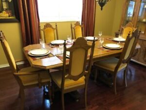 Moving Sale - Solid Oak Dinning Set and more