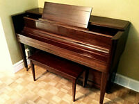 upright 1940s piano - gorgeous!
