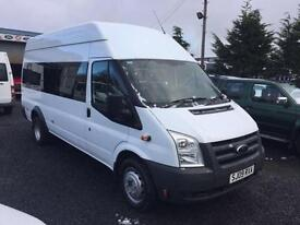 Ford TRANSIT 115 T430 17 seat hi top with wheelchair ramp