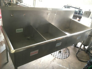 Triple Stainless Sink