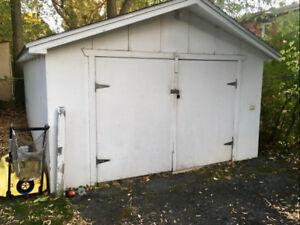 Garage-entrepôt à louer 150$/mois (Vieux-Longueuil)