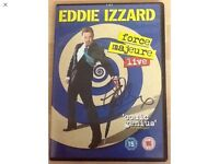 EDDIE IZZARD SIGNED RARE DVD ..IMMACULATE