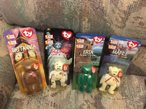 Vintage toys 1999 beanie bears never opened