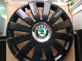 """Skoda 14"""" Wheel trims"""