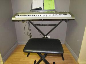 CASIO 270 Digital Keyboard, model LK-270