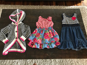 Assorted Girl Clothes (fits size 2-3)
