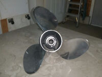 Stainless steel propellor