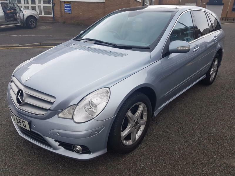 mercedes benz r320 3 0td 2007 7 seater 7g tronic cdi sport in
