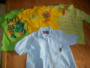 4 Boys shirts size 5 for $8