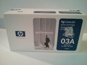 Genuine New Laser Toner Cartridge HP 03A