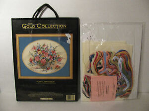 Dimensions Gold Collection Floral Grandeur Cross Stitch 3778