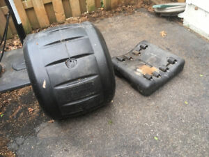 Rotating composter