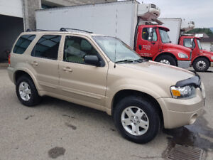 2007 Ford Escape Limited SUV, Loaded