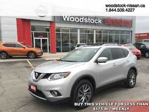 2014 Nissan Rogue SL  - Bluetooth -  leather seats -  power seat