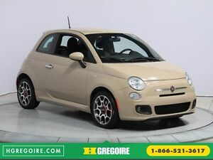 2012 Fiat 500 Sport AUTO A/C GR ELECT MAGS BLUETOOTH