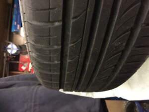 215/65R16 All Season Tires on Toyota Steel Rims