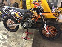 Ktm Sxf 450 not Honda, Suzuki, Yamaha, gas gas, sherco, beta