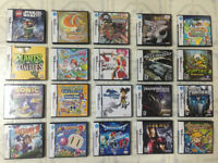 TONS OF DS GAMES !!!