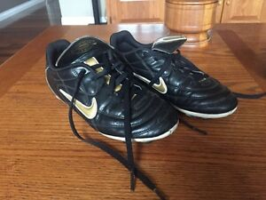 Nike size 3 football cleats