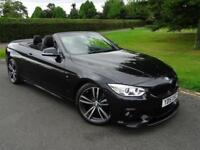 BMW 4 SERIES 420D M SPORT CONVERTIBLE 2015/15