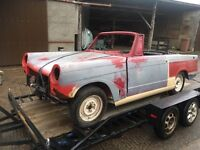 Triumph herald 1966 parts here restore project classic collectable