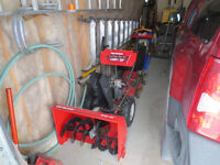 Yard Machines by MTD snowblower for sale 10 hp 28 INCH