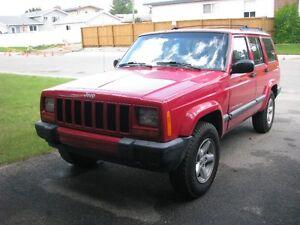 2000 Jeep Cherokee sport Wagon