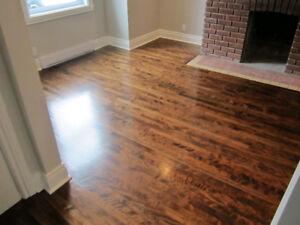 Sablage , pose et reparation de plancher et des escaliers