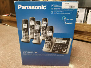 Panasonic KX-TG175C Cordless Phone Set (New)