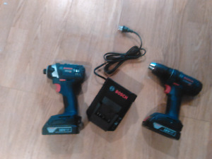 New Bosch drill and impact