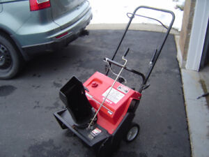 "20 "" 3 HP  2 Stroke  Snow Thrower For Sale"