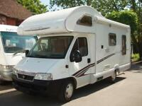 2006 Swift Sundance 590RL 4 berth Motorhome 2.3 Diesel